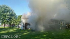 Box 8-8. Horizontal ventilation further assists with the removal of heat and smoke. Photo: PIO Perry Jones