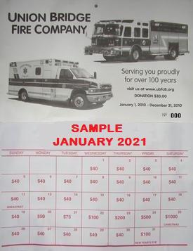 2021 Lottery Calendars are on sale now!!!